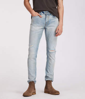 AllSaints Iredell Rex Straight Skinny Jeans