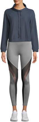 Koral Activewear Pump High-Neck Long-Sleeve Sweatshirt