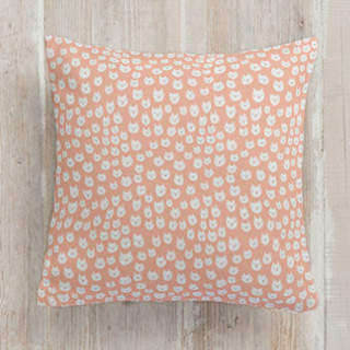 Kitty Power Square Pillow
