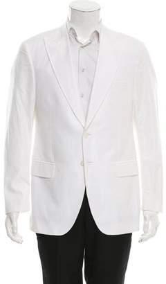 Dolce & Gabbana Jacquard Two-Button Blazer