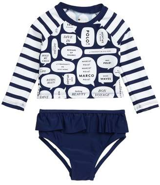 b28fcf0c2 Kate Spade speech bubble two-piece swimsuit (Baby)
