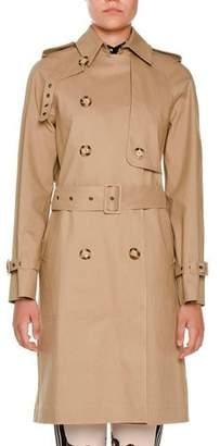 Stella McCartney Macintosh Cotton Trenchcoat, Fawn $2,595 thestylecure.com