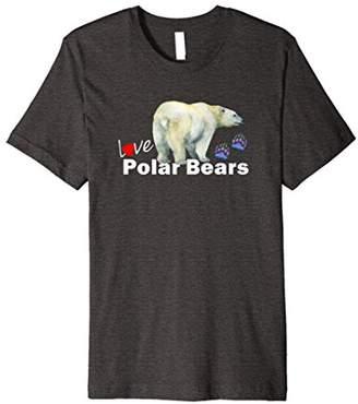 Love Polar Bears TEE SHIRT