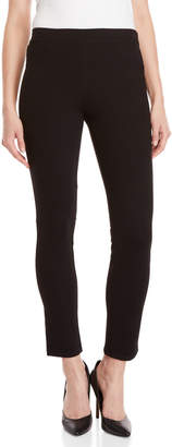 Max Studio Petite Black Double Knit Pants