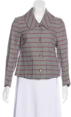 Marni Tweed Snap-Up Jacket