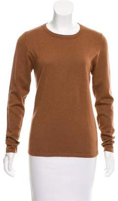 TSE Silk-Blend Long Sleeve Sweater