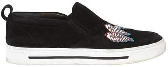 Marc by Marc Jacobs Black Suede Trainers