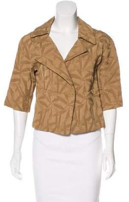 Marni Jacquard Open Front Jacket