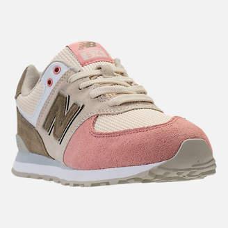 New Balance Boys' Grade School 574 Casual Shoes