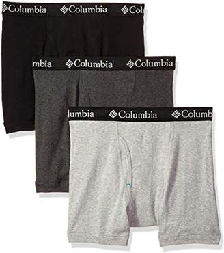 Columbia Men's 100% Pure Cotton 3 Pk Boxer Brief