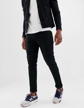 Brave Soul Skinny Fit Black Jeans