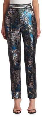 Peter Pilotto Lurex Jacquard Trousers