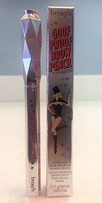 Benefit Cosmetics goof proof brow grow super easy brow filling and shaping pencil travel size - 03 Medium 0.11 g / 0.003 oz by