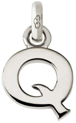 Links of London Sterling Silver Letter Q Charm