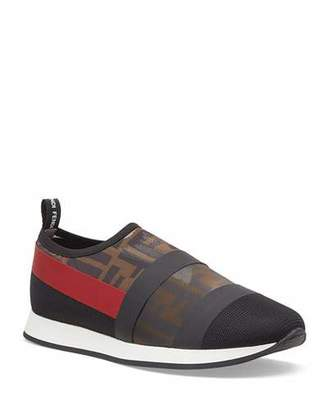 Fendi Runway Mesh FF Trainer Sneakers