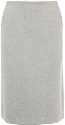 Tibi Bond Stretch Knit A-Line Skirt