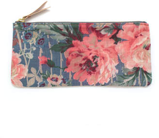 Knickers & Whiskey 1920s Arles Floral Envelope Pouch