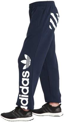 adidas Logo Printed Cotton Sweatpants