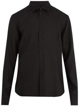 Orlebar Brown Meden point-collar linen shirt