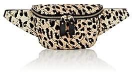 Valentino Women's Rockstud Spike Calf Hair Belt Bag - Brown
