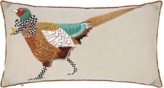 Mackenzie Childs MacKenzie-Childs - Pheasant Lumbar Cushion