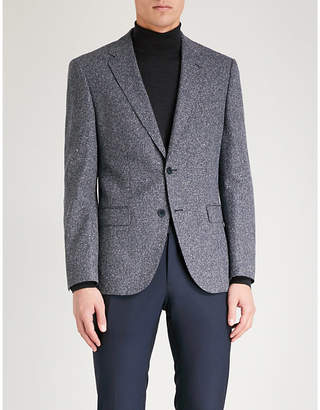 BOSS Regular-fit wool-blend suit jacket