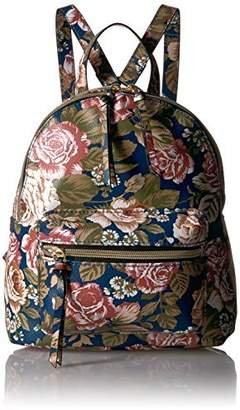 T-Shirt & Jeans Back Pack with Floral Print