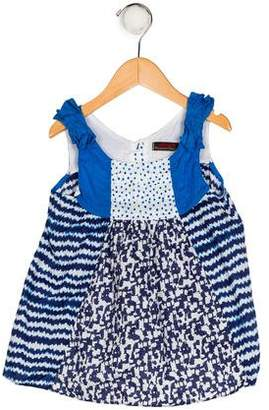 Catimini Girls' Printed Sleeveless Top