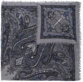 Zanone paisley scarf