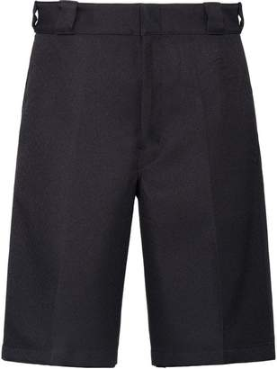 Prada gabardine bermuda shorts
