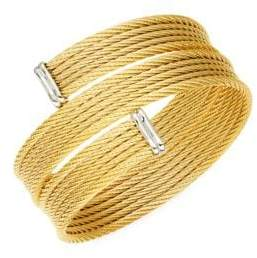 Alor Classique 18K Yellow Gold & Stainless Steel Bracelet