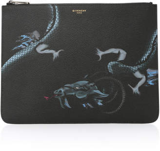 Givenchy Dragon Leather Pouch
