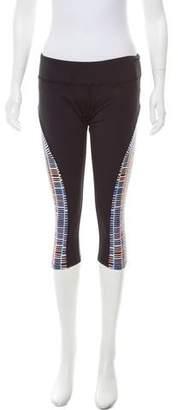 Mara Hoffman Mid-Rise Printed Leggings w/ Tags