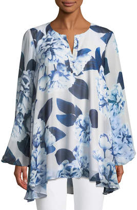 Show Me Your Mumu Jamie Floral-Print Chiffon Tunic