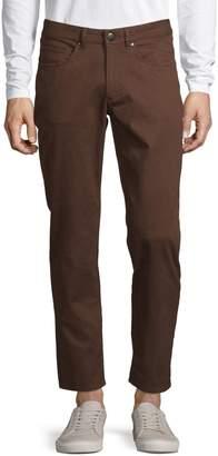 Black Brown 1826 Five-Pocket Birdseye Pants