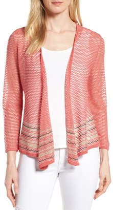 Women's Nic+Zoe Rose Quartz 4-Way Convertible Cardigan $138 thestylecure.com