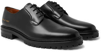 Common Projects Leather Derby Shoes - Black