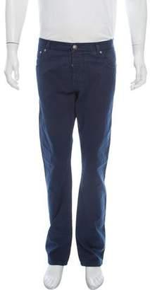 Isaia Five-Pocket Slim Jeans w/ Tags