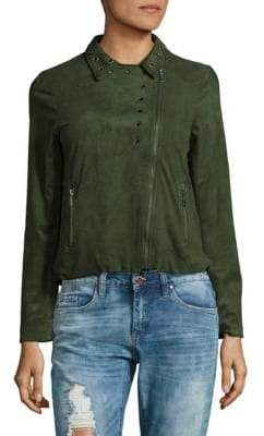 Supply & Demand Hailey Faux Suede Jacket