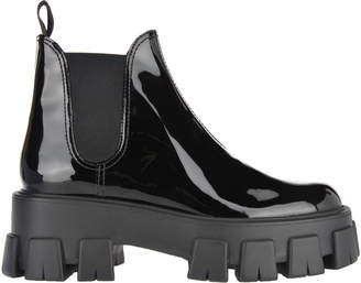 Prada Patent Leather Boots