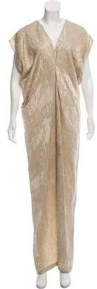 Zero Maria Cornejo Linen-Blend Evening Dress w/ Tags