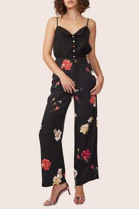 ABS by Allen Schwartz Floral High-Waisted Pants