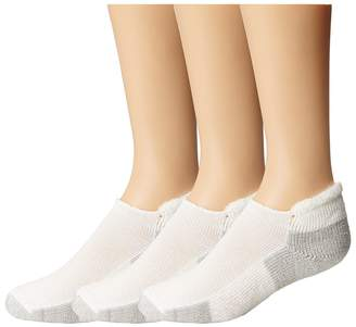 Thorlos Running Rolltop 3-Pair Pack No Show Socks Shoes