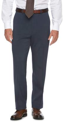Chaps Big & Tall Classic-Fit Performance Flat-Front Dress Pants