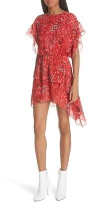IRO Print Ruffle Dress