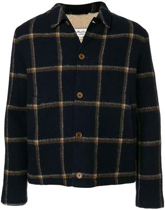 YMC check shirt jacket