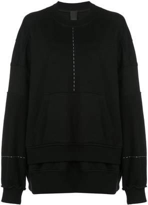 Vera Wang oversized sweatshirt