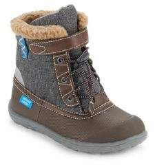 See Kai Run Toddler's& Kid's Waterproof Insulated Collared Boots