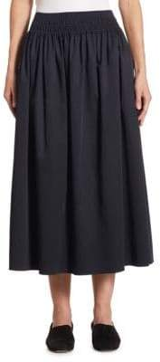 The Row Betsy Pleated Midi Skirt
