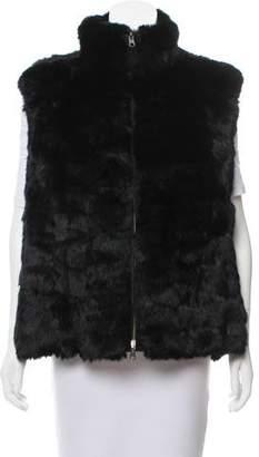 Glamour Puss Glamourpuss Reversible Fur Vest w/ Tags